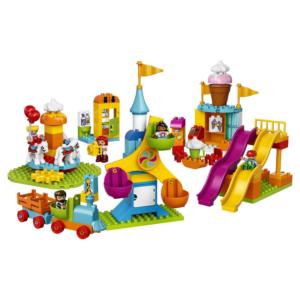 Большой парк аттракционов LEGO Duplo 10840
