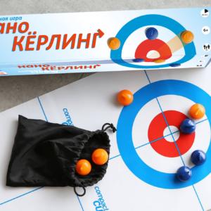 Настольная игра «Нано керлинг»