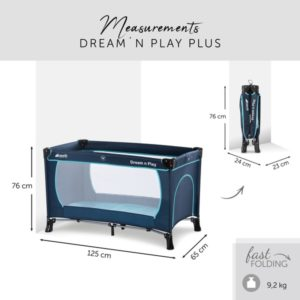 Манеж-кроватка Hauck «Dream'n Play Plus»